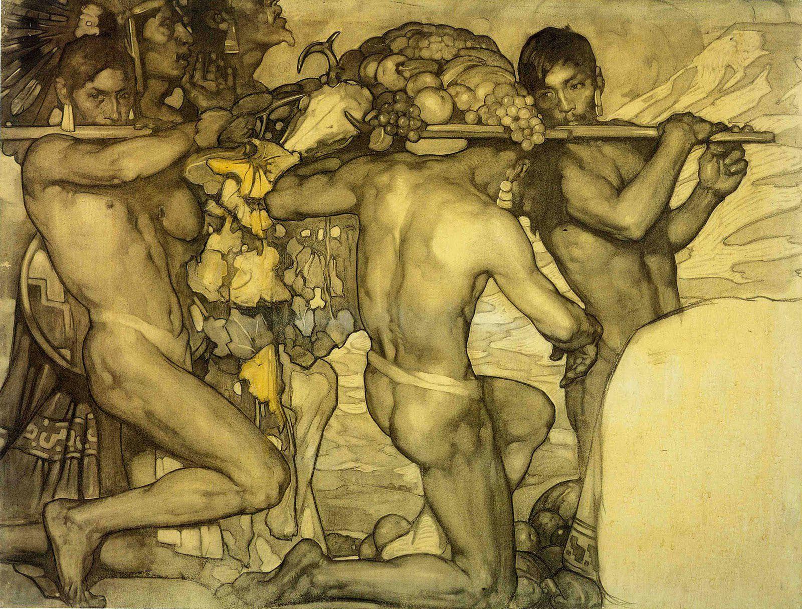 Gay ancient drawings