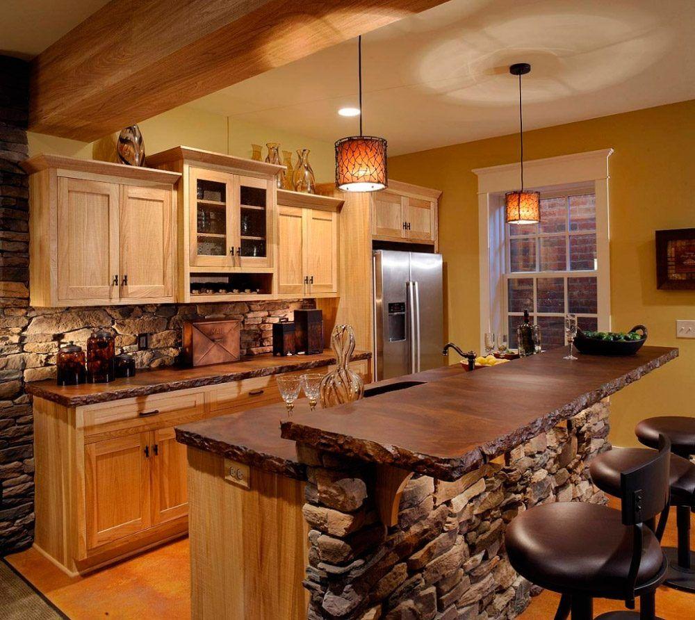 decorar cocinas pequeas rsticas