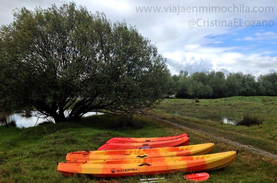Barranquismo, piragüismo, trekking, ciclismo, visita a una mina y ornitología en Cáceres