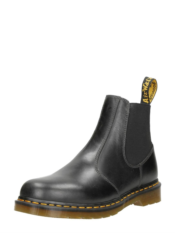 Voor Zwart Martens Dr Chelsea Boots Heren Hardy OwWIx7
