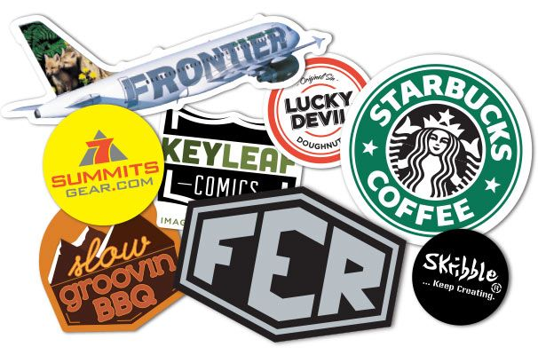 Logo Stickers For Business