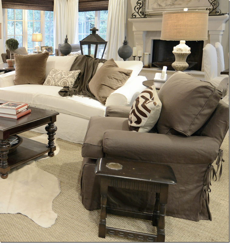 My Dream Living Room Perfect Example Of Mixing White Couches