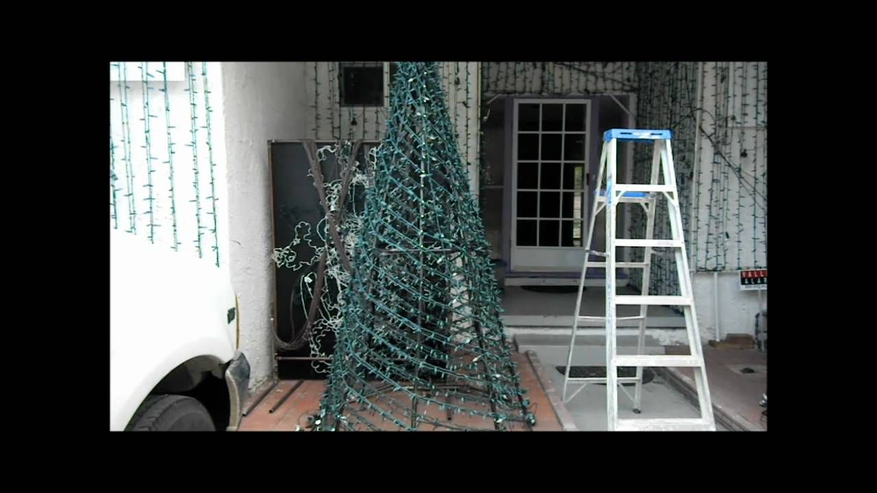 Pvc Christmas Trees.How To Make A Pvc Spiral Tree Christmas Christmas Tree