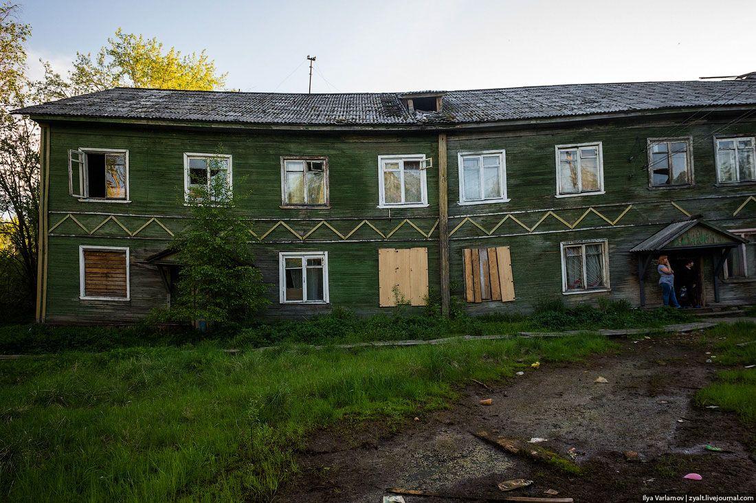 ветхие дома россии где живут люди фото если