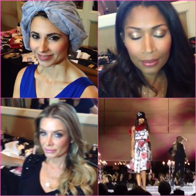 It's always an honour to get to do makeup for a great cause! The fashion show fundraiser for the new Humber River Hospital in Toronto was a huge success! Makeup on all the models was done by the dash beauty team! Here is a sample of a few of the faces done by me  #dashbeauty via @angela4design by toni_maria_makeup