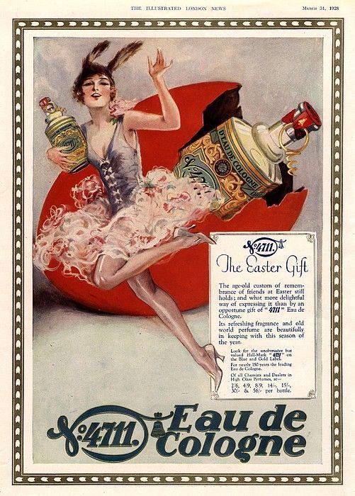 1928 1920s Uk 4711 Eau De Cologne Art by The Advertising Archives