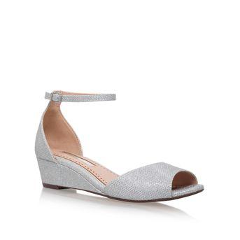Miss kg Philippa2 High Heel Slip On Sandals in Beige (Nude