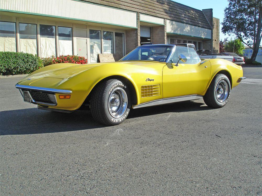*4 SALE* 1971 Stingray Corvette Convertible