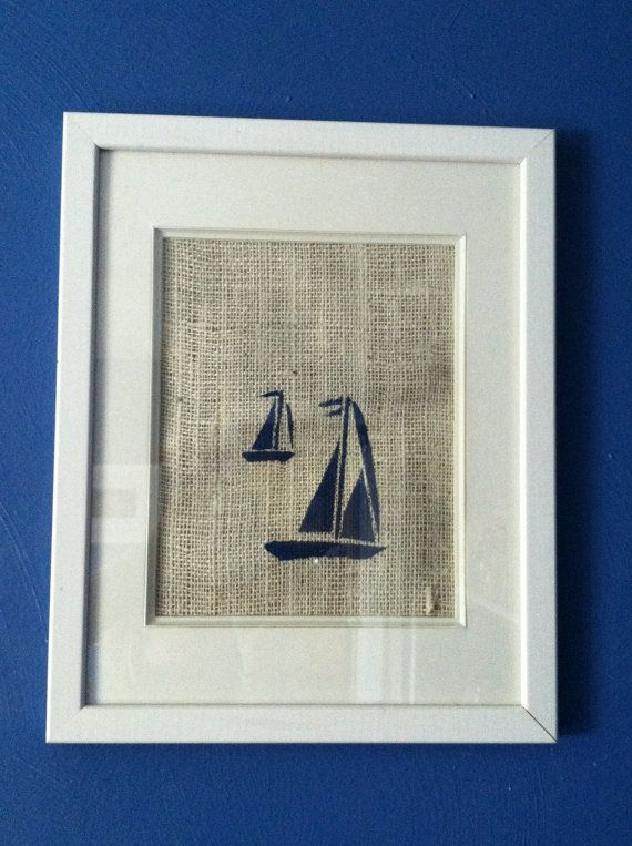 Nautical Nursery Decor Sailboat On Etsy