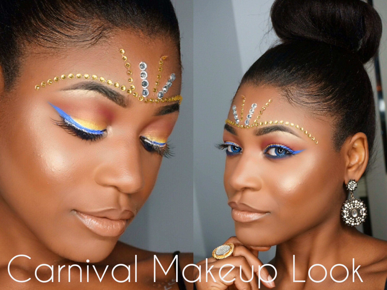 Toronto Caribana 2015 Makeup Look Carnival Makeup Caribana