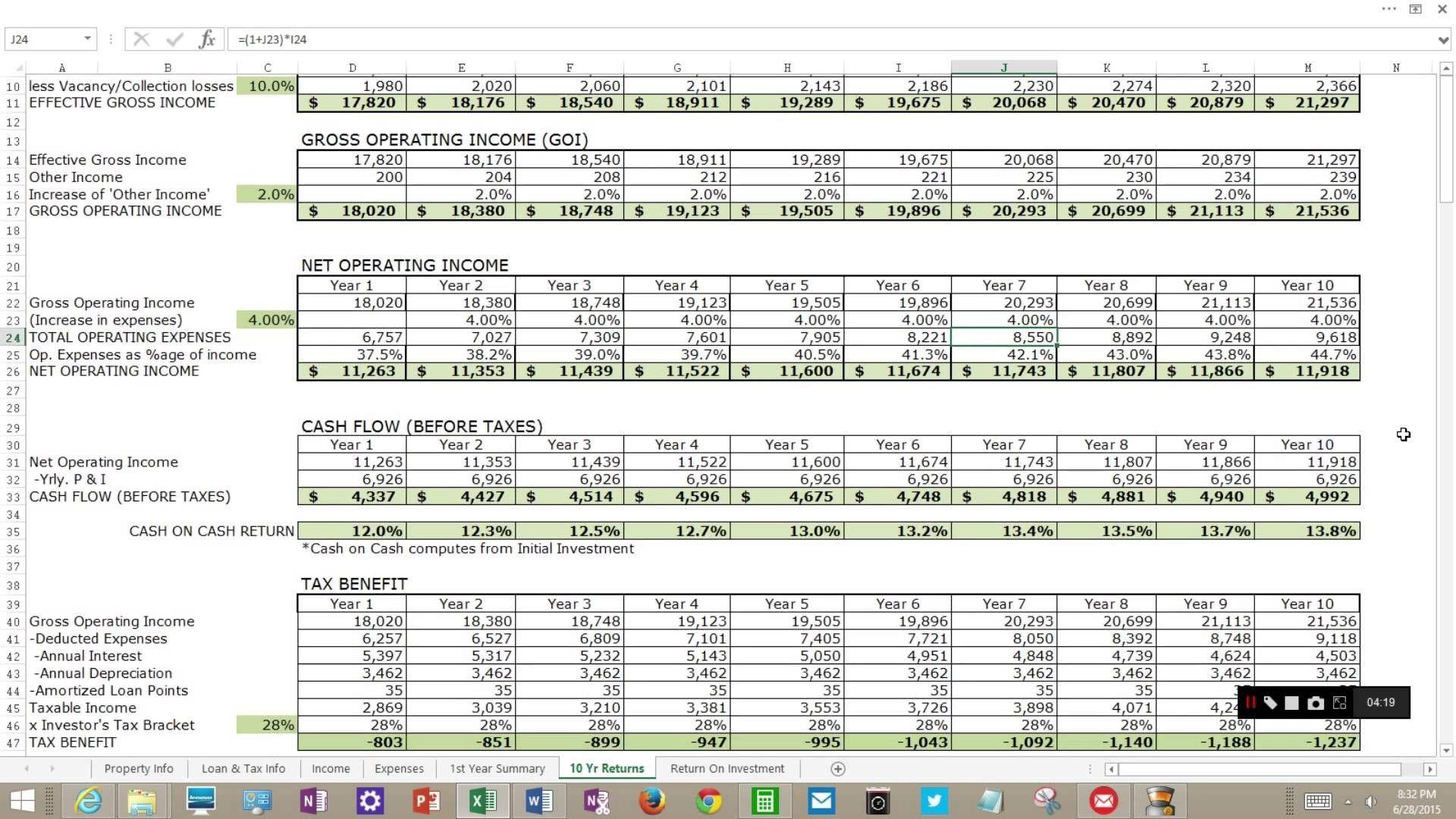 Unique Depreciation Spreadsheet Xls Xlsformat