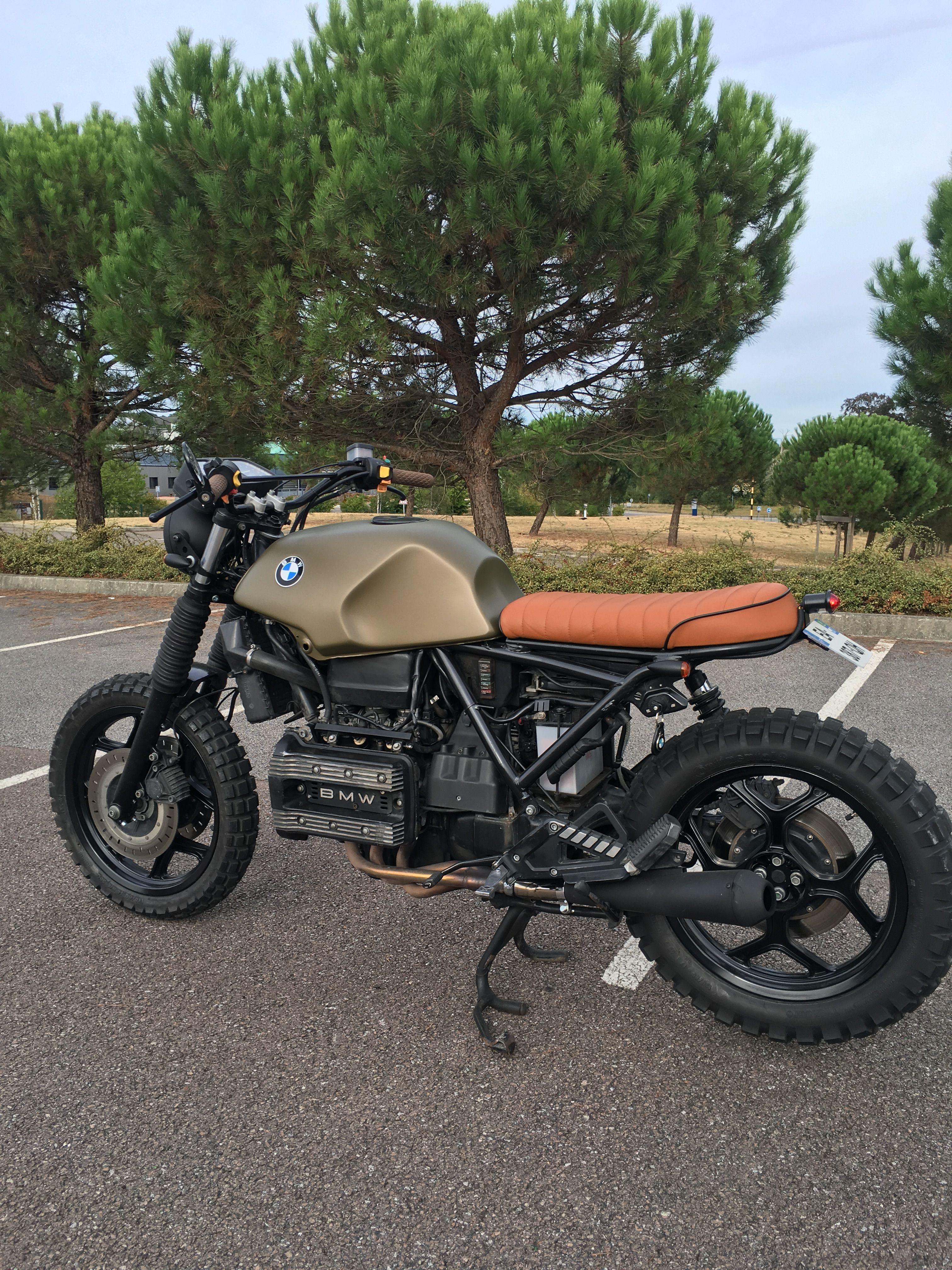 Bmw K75 Scrambler Bmw K75 Ideas Scrambler Motorcycle Bmw
