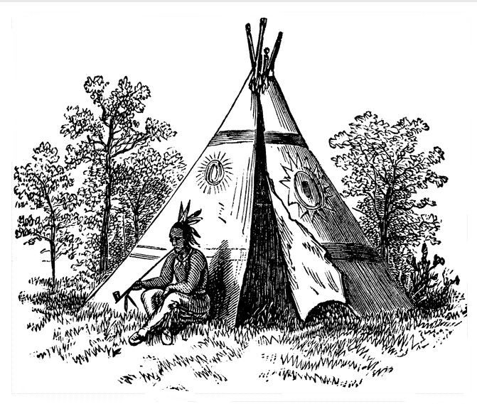 Native American Indian Coloring Books And Free Coloring Pages Native American Symbols Coloring Books Native American Tattoos