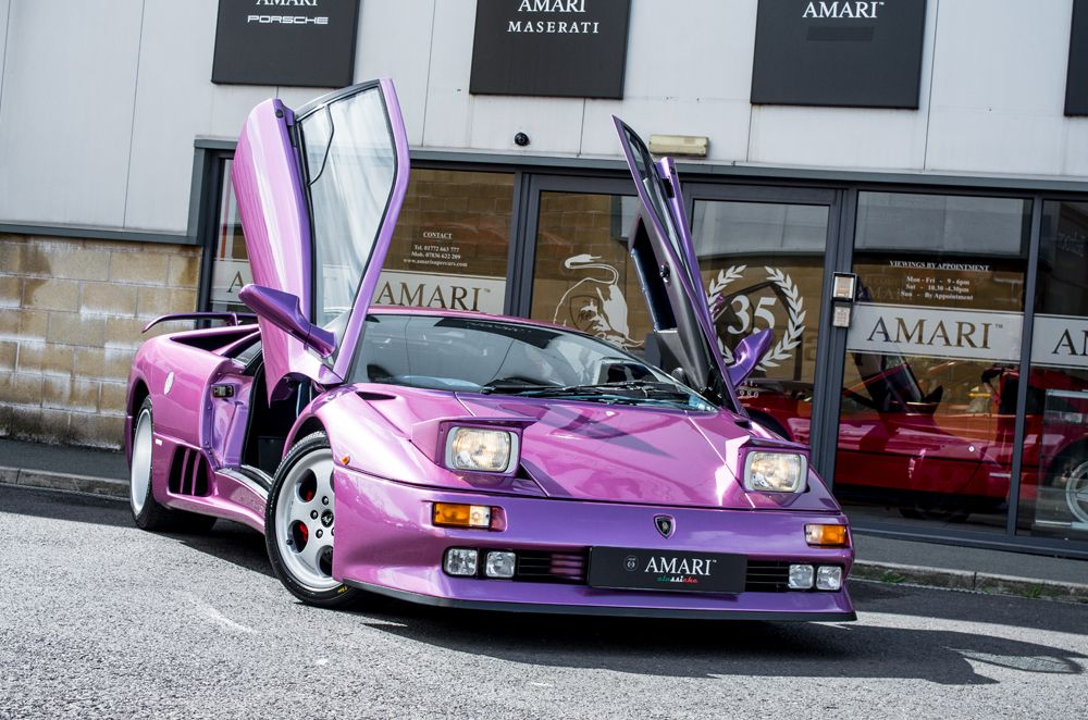 A Lamborghini Diablo Made Famous For Featuring In Jamiroquaiu0027s Nineties Hit  Single, Cosmic Girl, Went For Sale On Auto Trader This Week, And As The  Name U0027 ...