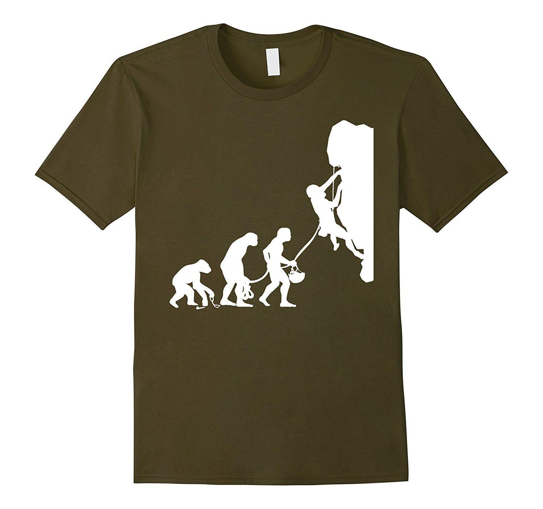 Mosher Mountain Gear Rock Climbing Evolution T-Shirt Tee