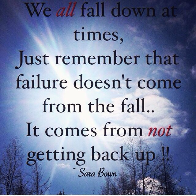 We All Fall Down Certified Life Coach Life Inspiration Life