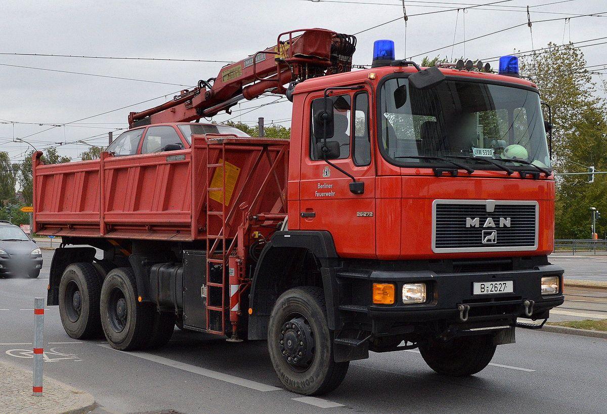 LKW 3, Berliner Feuerwehr, Technischer Dienst   Feuerwehr ...