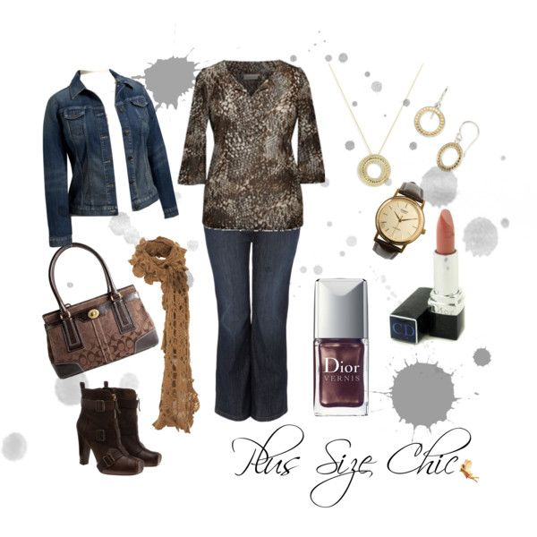 Plus Size Chic, created by redheaded-diva on Polyvore