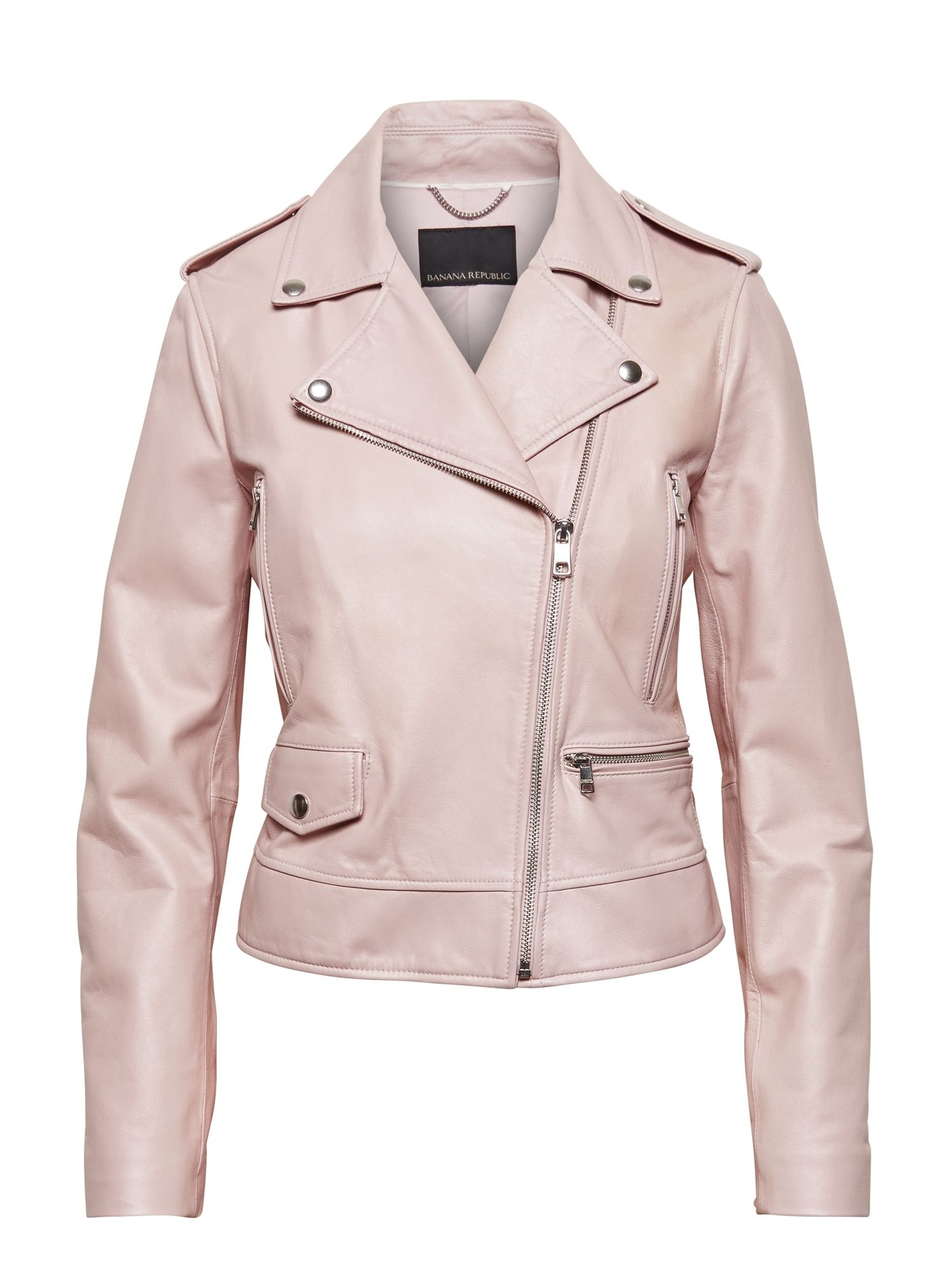 Leather Moto Jacket Banana Republic Beige Leather Jacket Moto Jacket Outfit Leather Jacket Outfits [ 2000 x 1500 Pixel ]