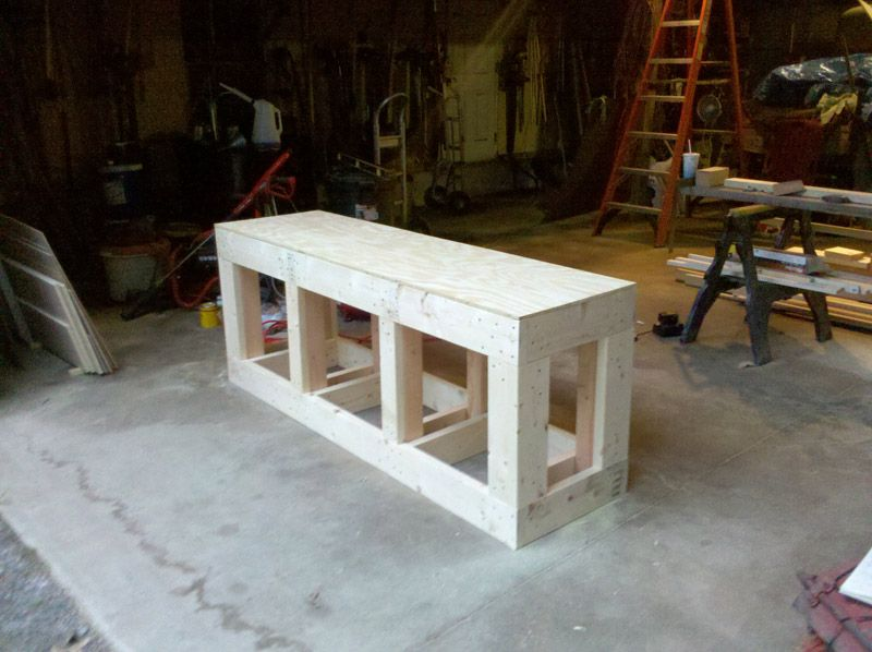 Construction Log Of Cichlid Tank And Stand
