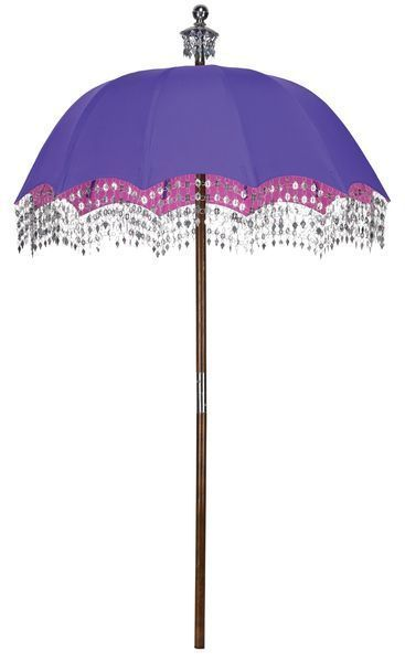Spruce up your outdoor space with our buyers guide to garden furniture. Handmade Indian parasol in Royal Purple   165  In Garden  www