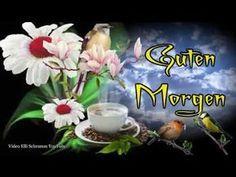 Die Blumen wünsche dir einen schönen Tag wenn der Morgen erwacht 🌺☕💌