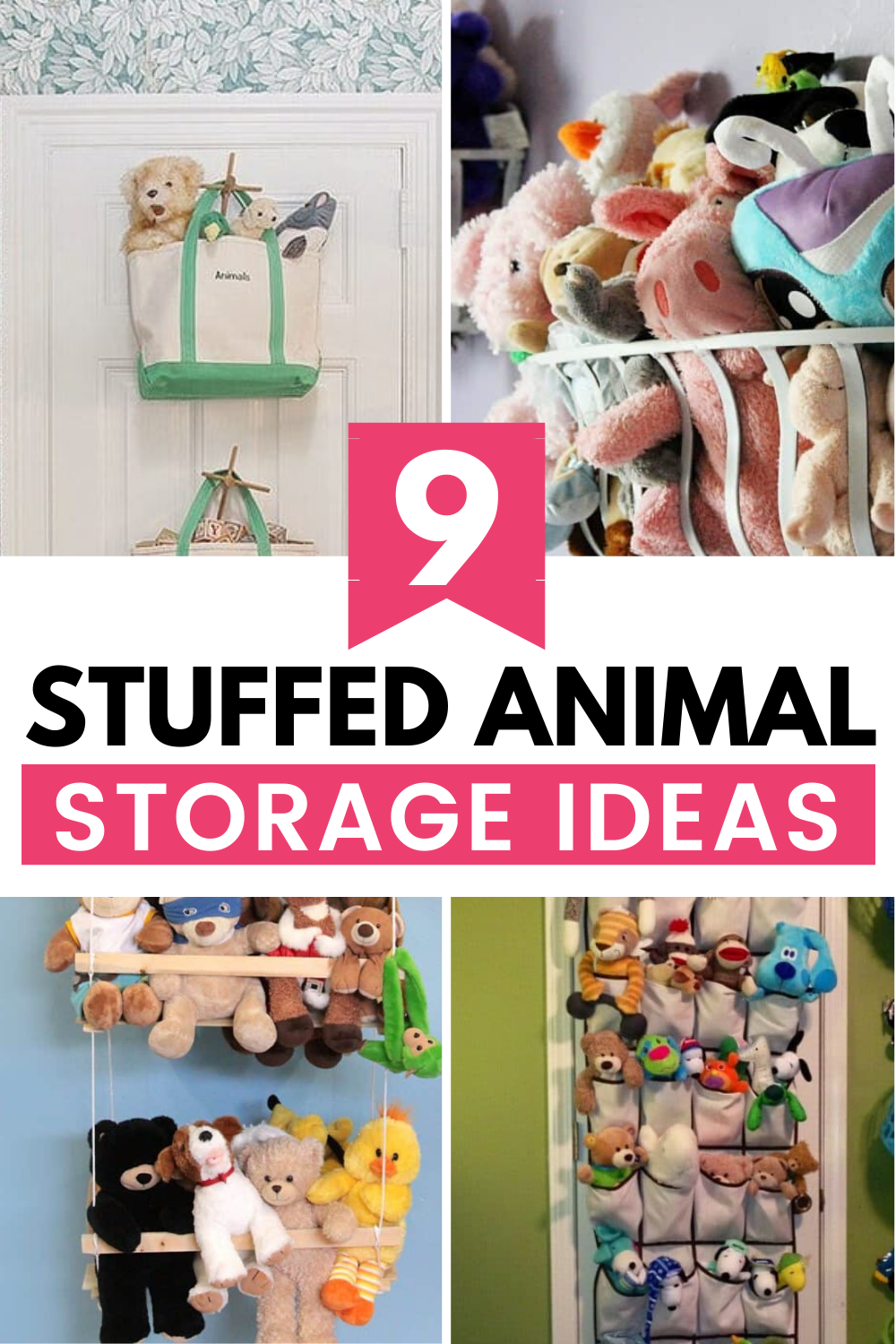 9 Clever Stuffed Animal Storage Ideas Stuffed Animal Storage