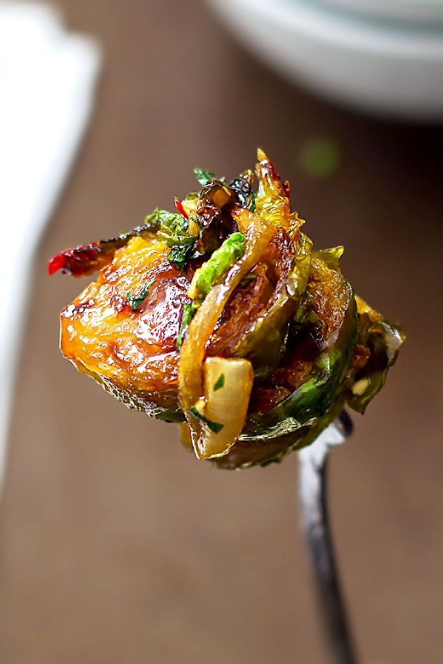 Saut 233 Ed Brussels Sprouts With Honey Glaze Sprout Recipes