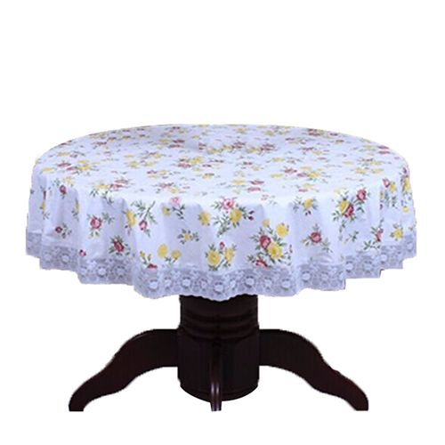 Pvc Pastoral Round Table Cloth Waterproof Oilproof Non Wash