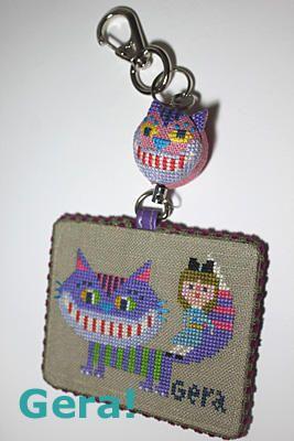 チェシャ猫パスケースの画像:G e r a !