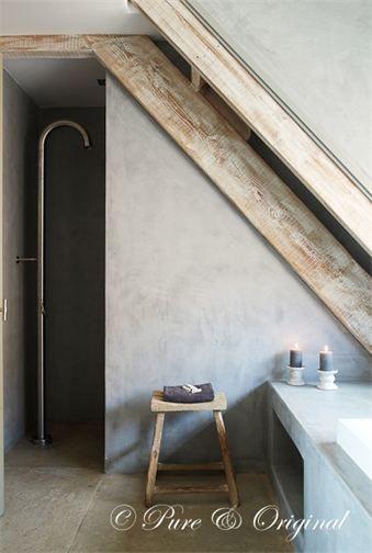 DE BETON-CIRE WINKEL - BETONLOOK VERF - Interieur | Pinterest - Verf ...