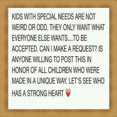 Kids With Special Needs Inspirational Quote Special Needs Kids