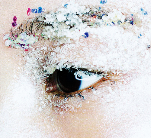 """Shu Pei's eye in """"Count on Me"""" Vogue China November 2013  by Eric Maillet"""