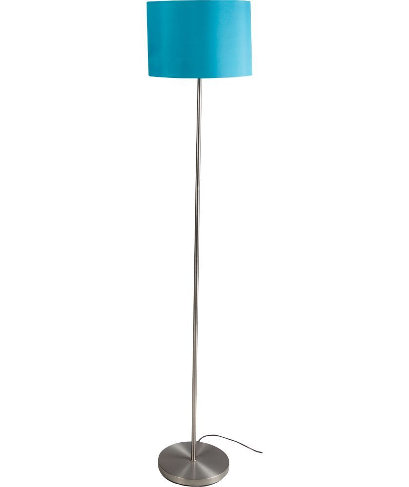 Buy ColourMatch Satin Stick Floor Lamp   Lagoon At Argos.co.uk   Your