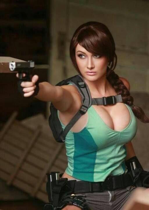 Lara Croft from good ol' Tomb Raider.