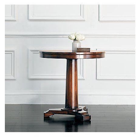 Portman Pedestal Night Table From Restoration Hardware