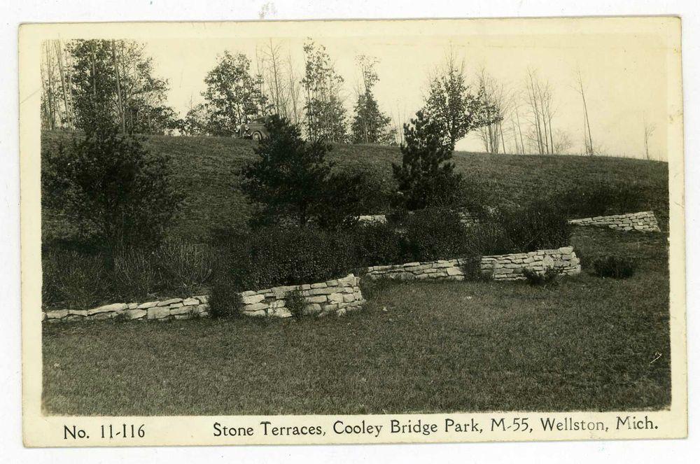 1940's Real Photo Postcard. Stone Terraces, Cooley Bridge