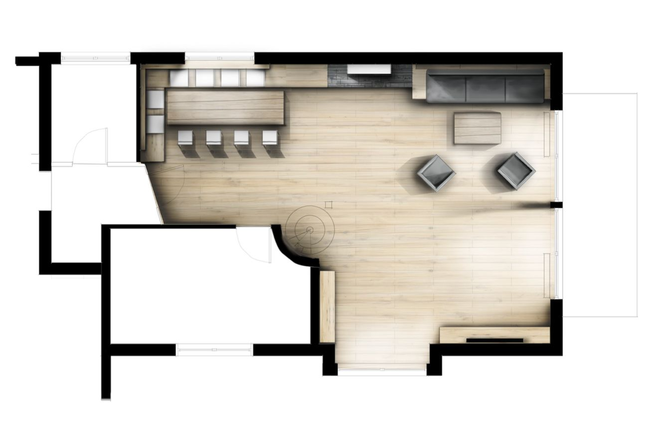 Innenarchitektur skizze küche  INNENARCHITEKTUR I GRAFIK I PRODUKTDESIGN | Interior Plangrafik ...