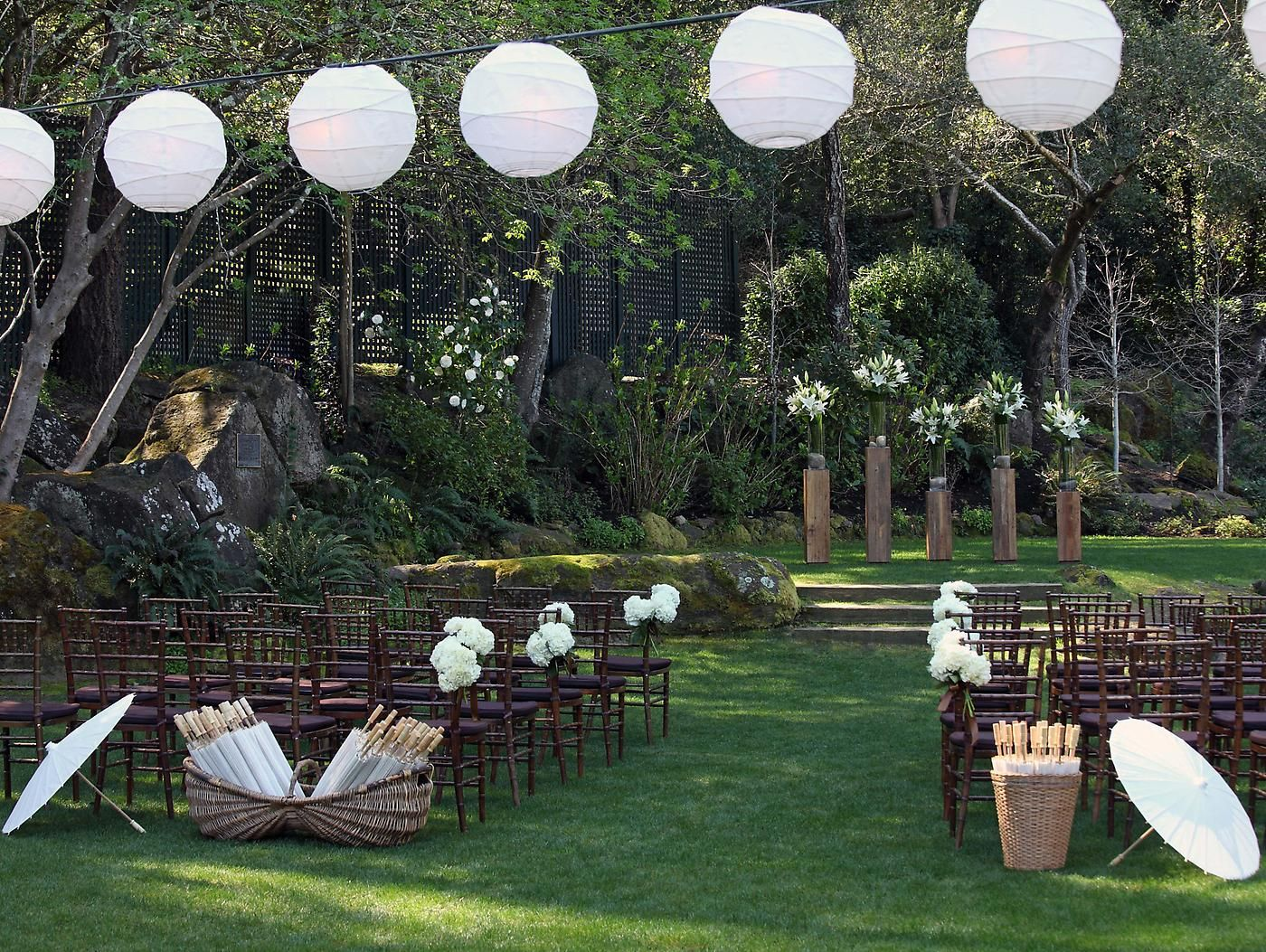 Luxury destination for napa valley weddings meadowood