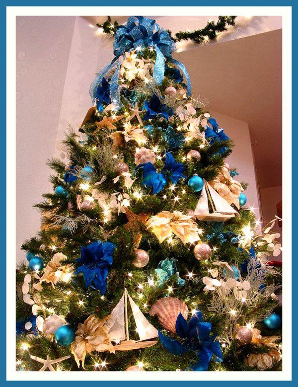 nautical christmas decorations | 2012 Best Christmas Tree Ideas ...