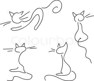 Vector Of Set Of People Simple Cartoon Drawings Wallpaper Easy Cartoon Drawings Cartoon Cat Drawing Drawing Wallpaper