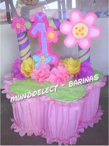 Pi ata de flor buscar con google decoraciones fiestas for Decoracion para pinatas
