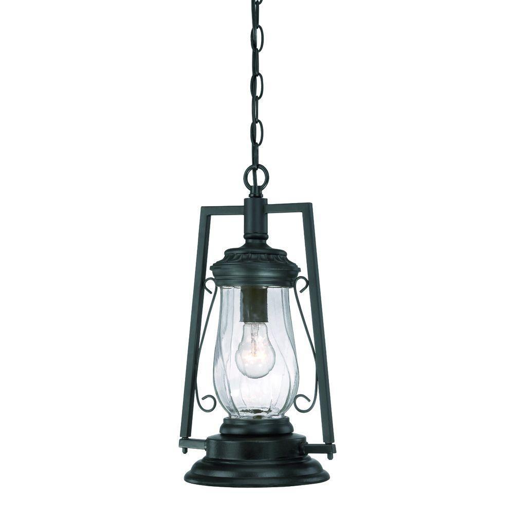 Acclaim Lighting Kero Collection 1 Light Matte Black Outdoor