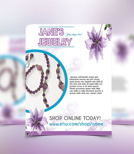 Flyer Template Custom Flyer Personalized By Astoundingartistry Pre