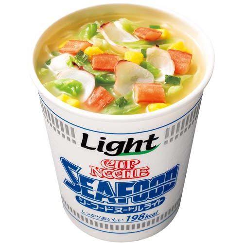 日清食品 カップヌードルシーフードヌードルライト12個入   timein.jp