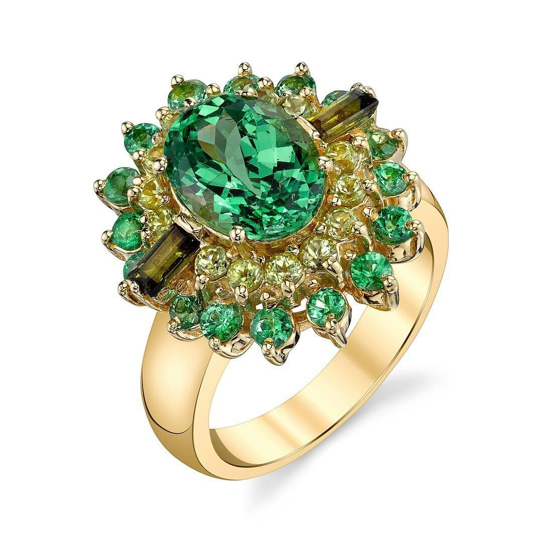 gleaming green gold garnet products tsavorite ring rings ladies