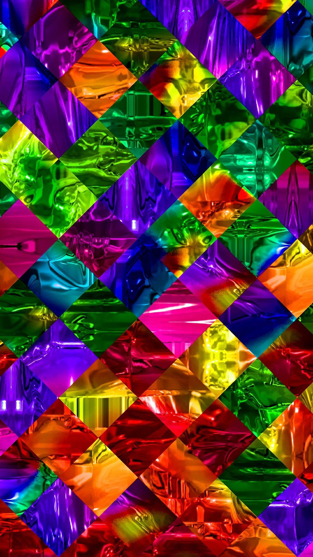 Pin By Louise Solum On Art Rainbow Wallpaper Colorful Wallpaper Flower Wallpaper