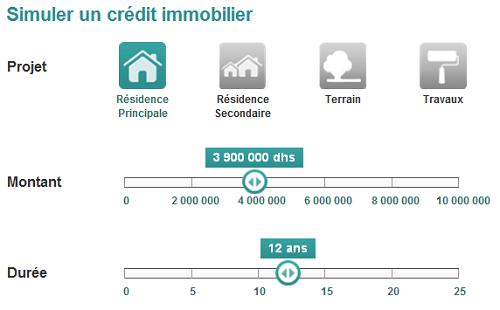 Simulation Bmci Bmce Banque Du Maroc Credit Immo Conso Credit Immobilier Banque Credit