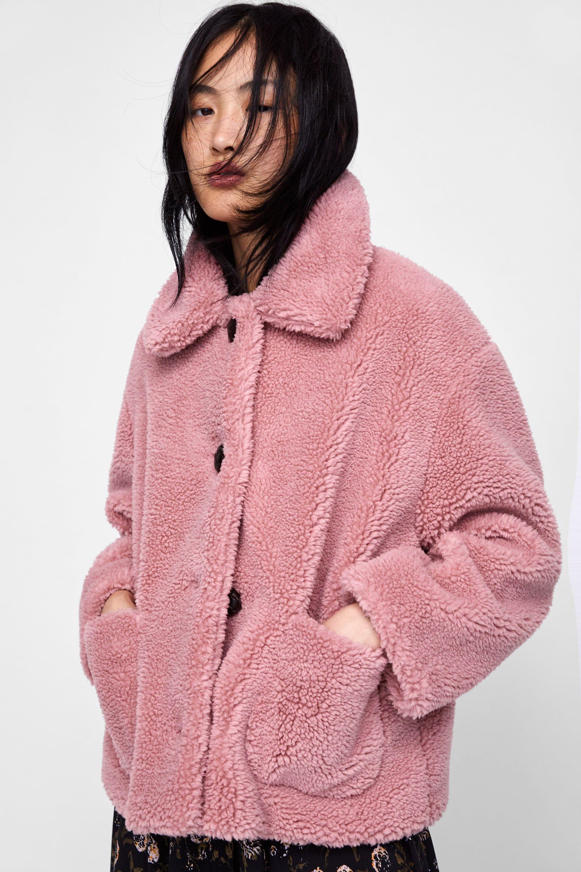 1894560e9 Fleece jacket | My Style | Zara outfit, Jackets, Zara