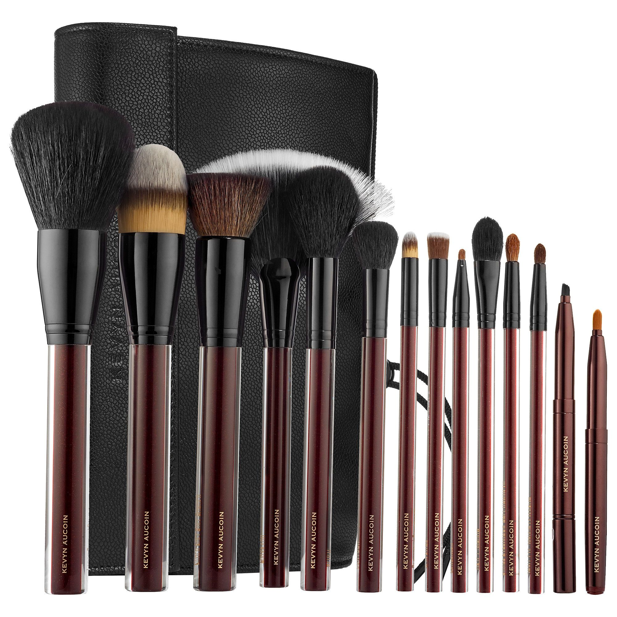 Shop Kevyn Aucoin's The Essential Brush Collection at